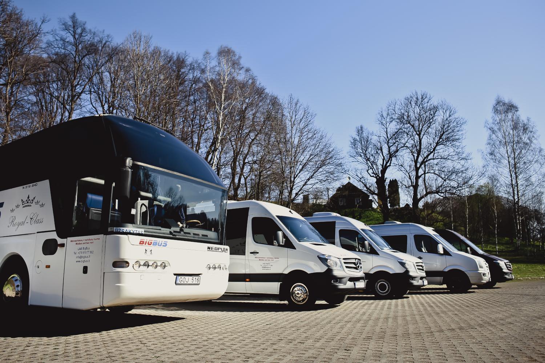 nuoma autobusai mikroautobusai